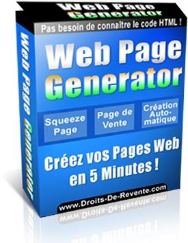 Web Page Generator
